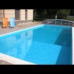 Balatonszemesen a strandtól 100 méterre  medencés luxusapartman kiadó max. 4+2 fő részére Fsz. 2. jelű apartman