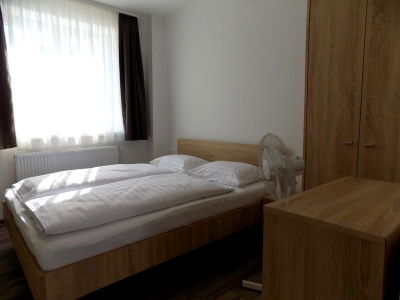 In Balatonboglár, 150 meters from Lake Balaton, a studio apartment on the half-floor in a newly built apartment building is available for 3 people (apartment E 3.)