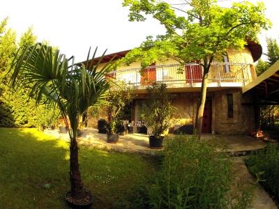 Villa Mediterran, 50 m from Lake Balaton, new built holiday villa for max. 12 persons