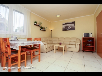 Cozy ground floor apartment for rent up to 5 persons in Hullám Holiday Estate Resort
